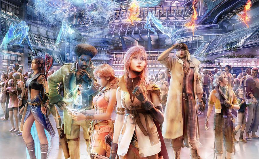 final fantasy 13 wallpaper. Final Fantasy 13 Wallpaper 2