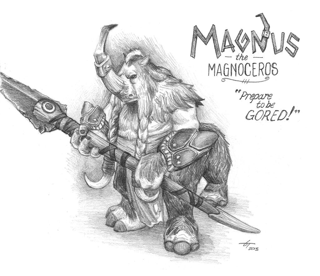 Magnus the Magnoceros (Dota 2) by fenix42