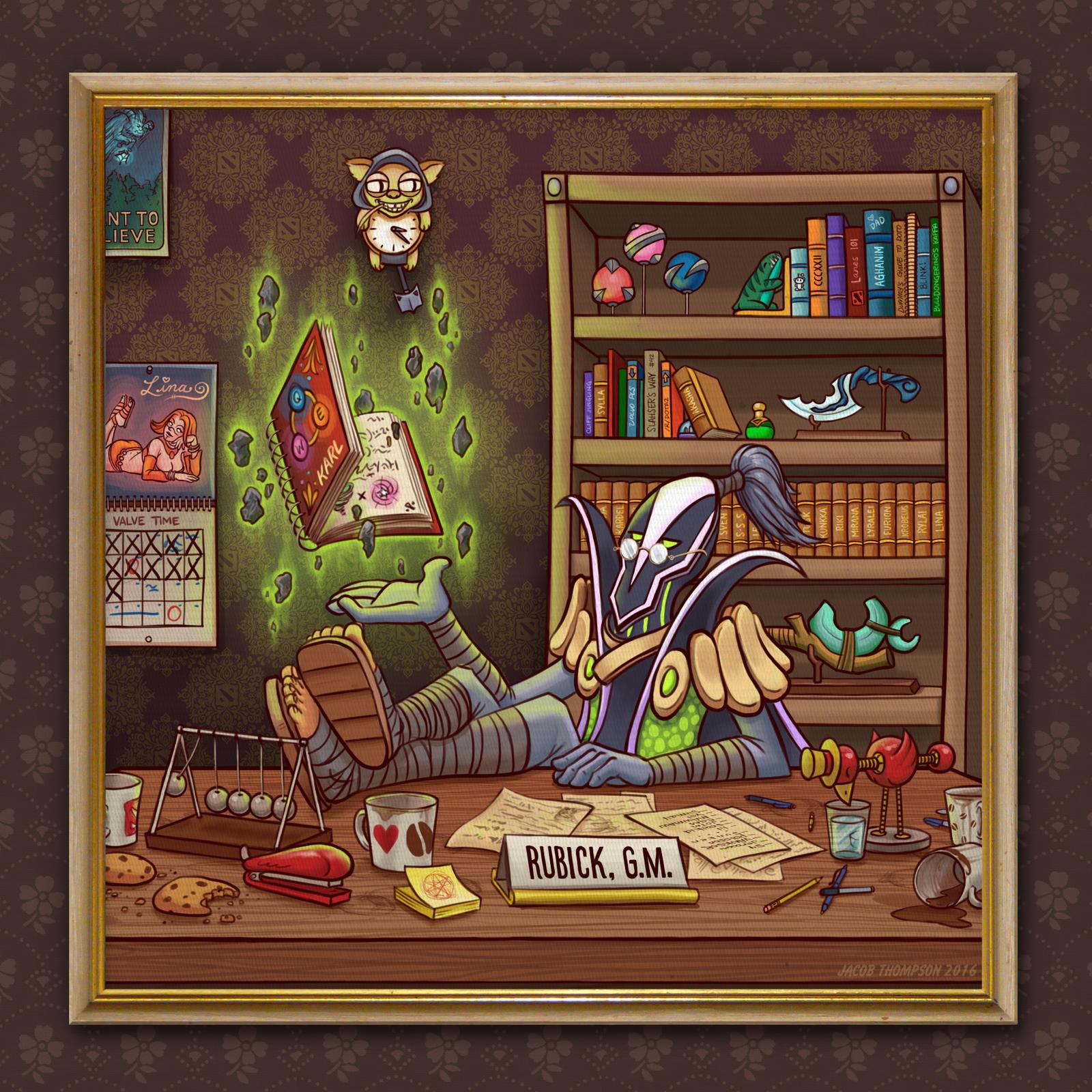 Rubick's Study by fenix42