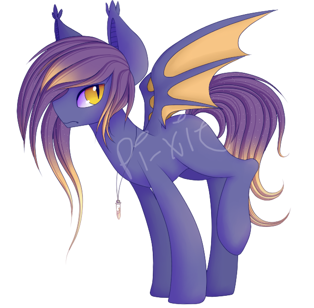 Batpony Adopt Auction-- CLOSED (USD+POINTS) by Pi-xie