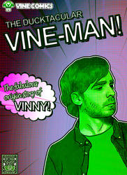 Vinebooru Art: The Ducktacular Vine-Man
