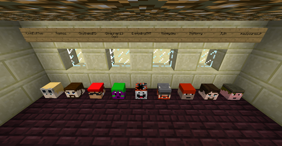 how to see other players in minecraft