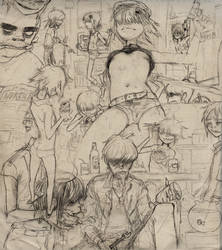 Noodle9 / Lough sketch by NoRiPiE