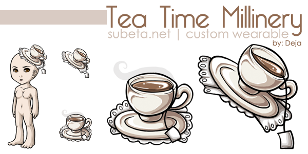 Subeta CW - Tea Time Millinery by Blind-Wanderer
