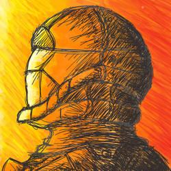 ODST Sketch by Abriel99