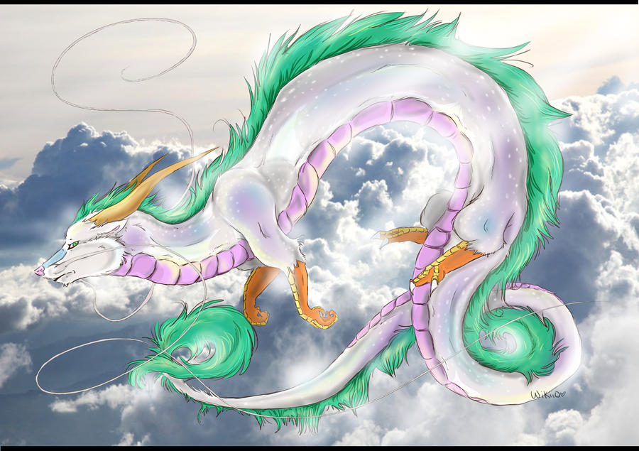 .:Haku the River Spirit:. by wikiio
