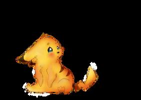 Sad Little Pikachu by wikiio