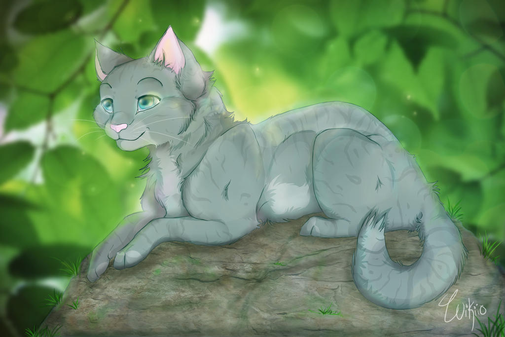 Warrior cats- Feathertail by wikiio