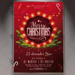 Christmas Night - Winter Flyer PSD Template