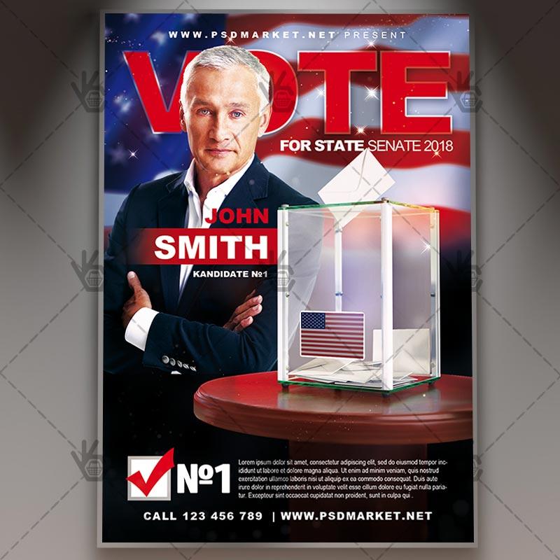 Political Vote Business Flyer Psd Template By Psdmarket On Deviantart