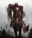 the crimson titan