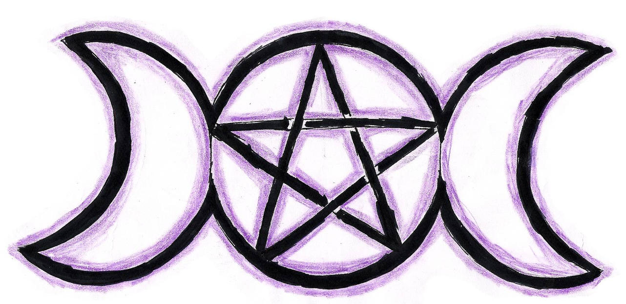goddesses 39 pentagram by aku ookami mecchen on deviantart. Black Bedroom Furniture Sets. Home Design Ideas