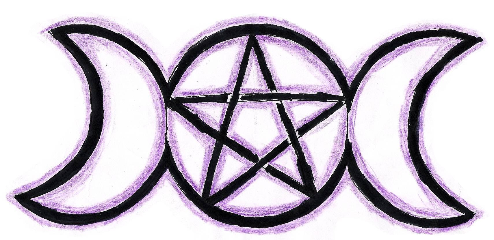 goddesses 39 pentagram by aku ookami mecchen on deviantart. Black Bedroom Furniture Sets. Home Design Ideas