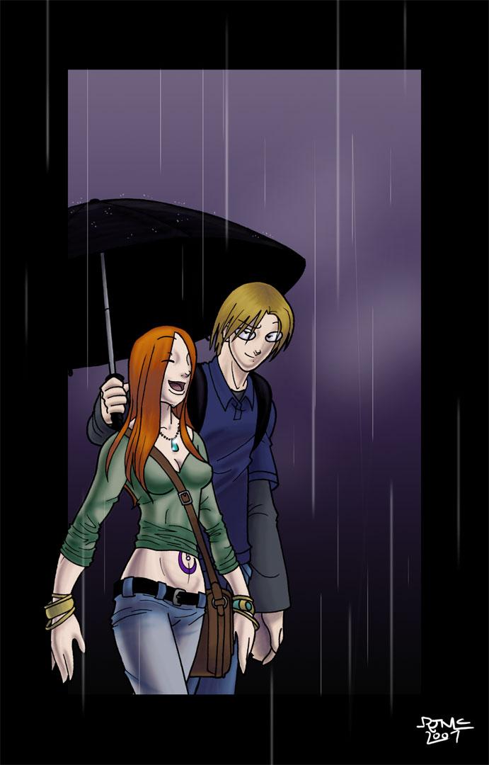 Rain in Rain by Dyir