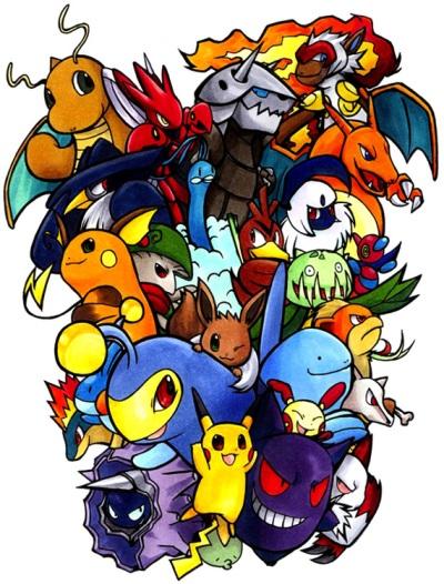 Pokemon by Cornelia-chan