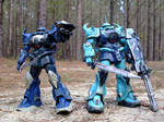 Donahue and Packard Gouf Troop