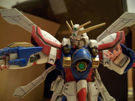 Burning Gundam 2 by RedKARASU