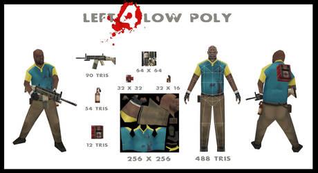 low poly coach