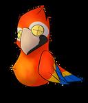Macaw Bird Plush