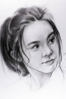 Chantel Yiu pencil drawing