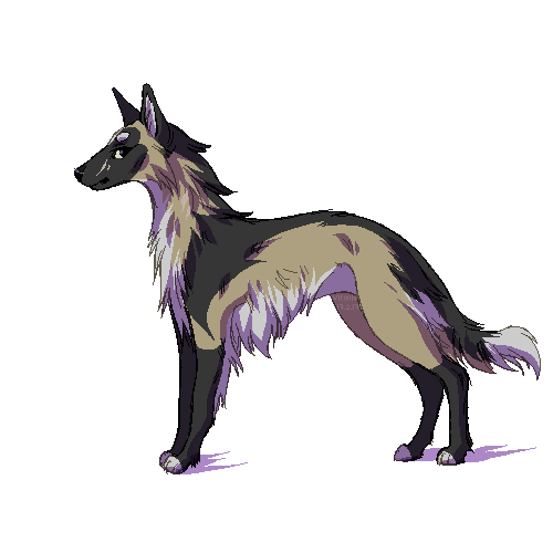pixel dog by vicoon7