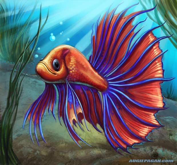 Betta tattoo joy studio design gallery best design for Japanese fighter fish