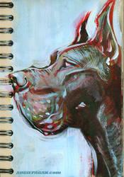 Great Dane study03 by soul71