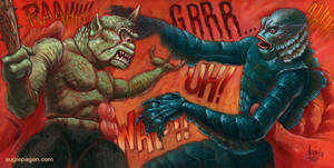 Creature Feature fantasy Fight