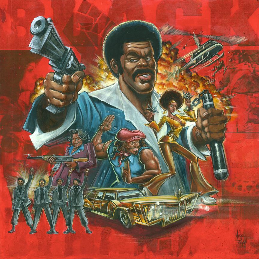 Black Dynamite by soul71