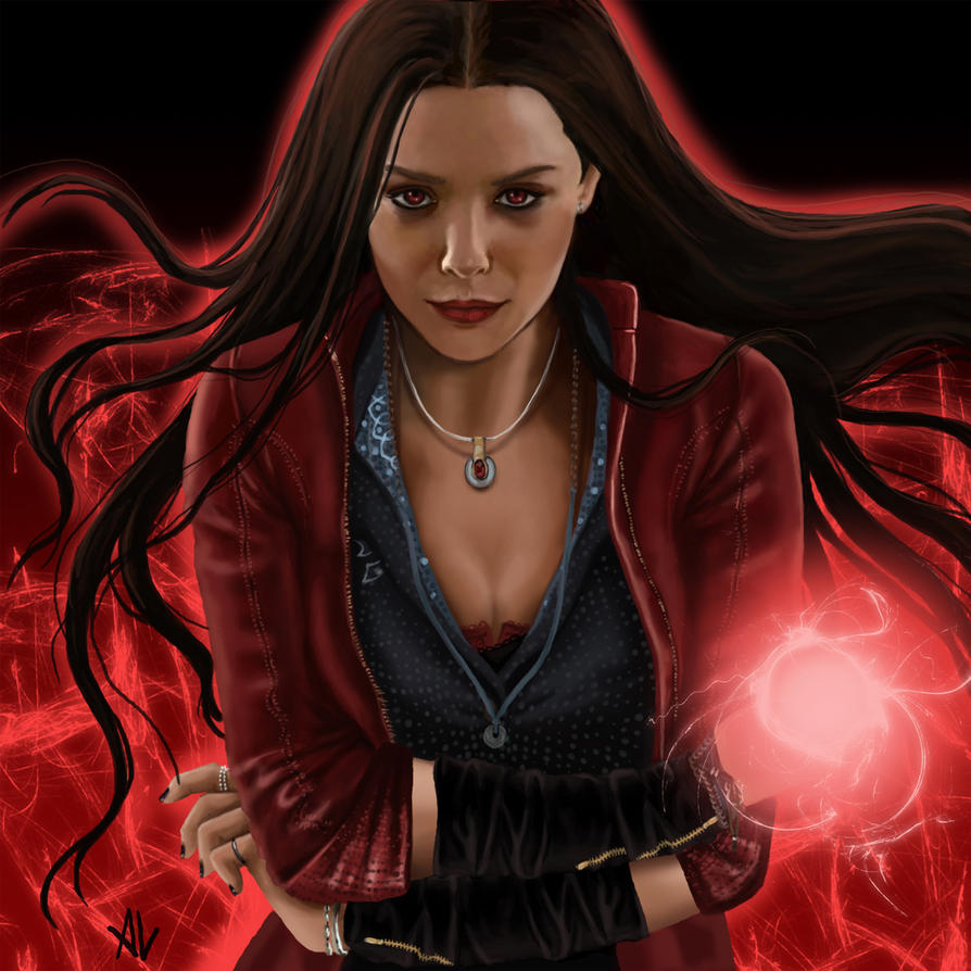 Must see Wallpaper Marvel Scarlet Witch - scarlet_witch_by_polkari-d8qvrot  You Should Have_195320.jpg