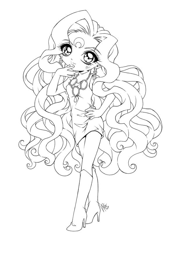 anime coloring pages deviantart photoshop - photo#38