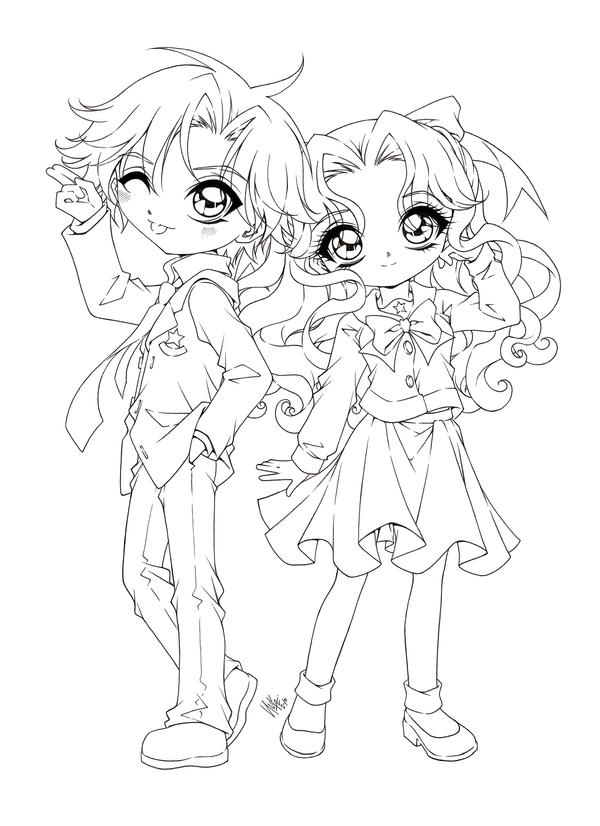 anime coloring pages deviantart photoshop - photo#12