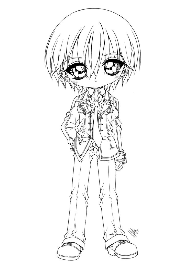 vampire knight zero coloring pages - photo#6