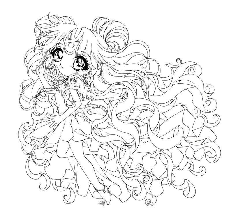 anime coloring pages deviantart photoshop - photo#3