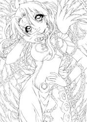 eclair... lineart