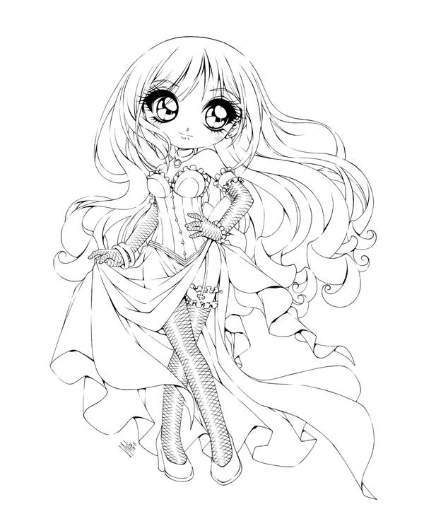 anime coloring pages deviantart photoshop - photo#13