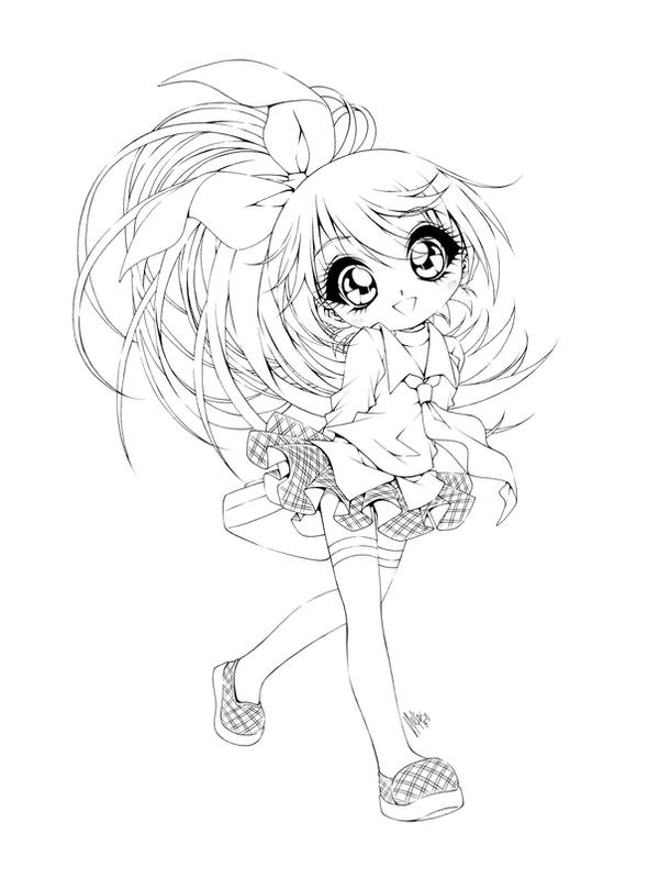 anime coloring pages deviantart photoshop - photo#8