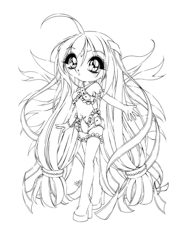 anime coloring pages deviantart photoshop - photo#25