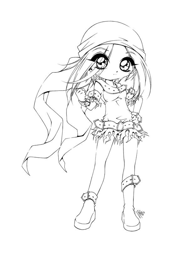 anime coloring pages deviantart art - photo#8