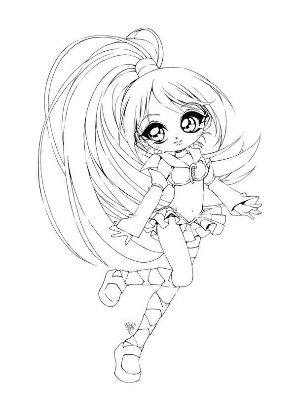 anime coloring pages deviantart outgoing - photo#15
