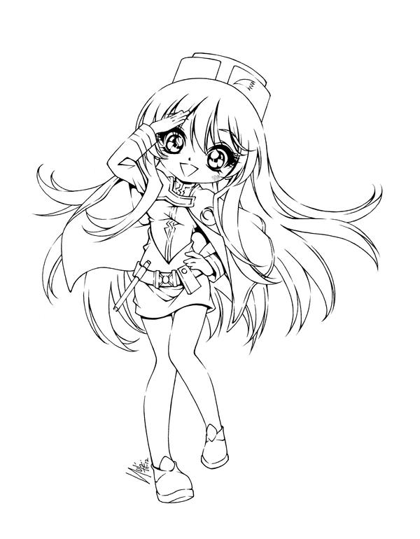anime coloring pages deviantart photoshop - photo#19