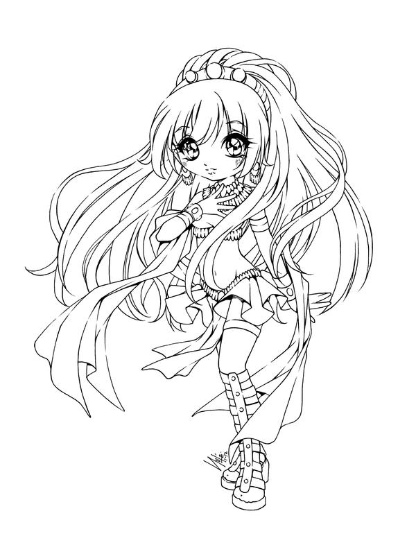 Isis by sureya on deviantart - Coloriage manga a colorier ...