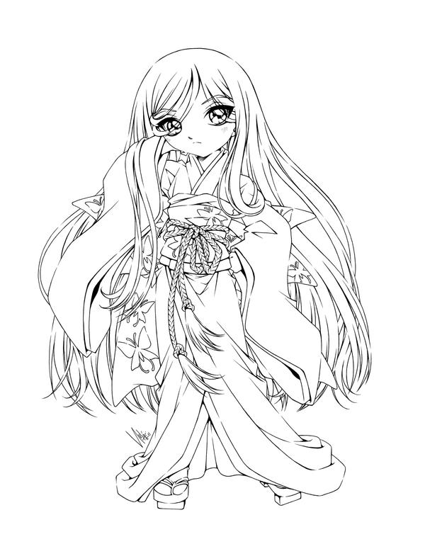anime coloring pages deviantart photoshop - photo#16