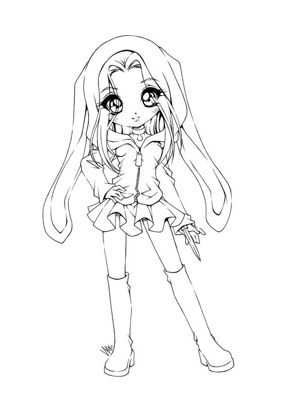 anime coloring pages deviantart art - photo#6