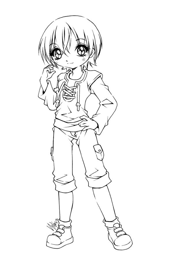 anime coloring pages deviantart art - photo#16