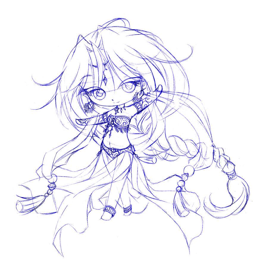 rachel... sketch by sureya
