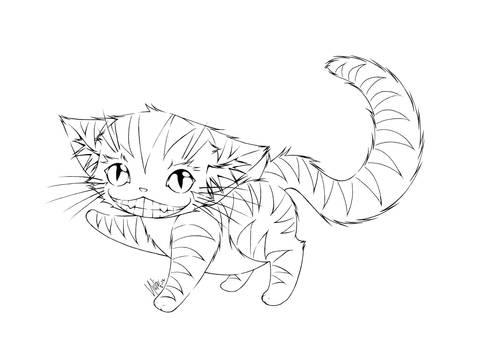 the cheshire cat...