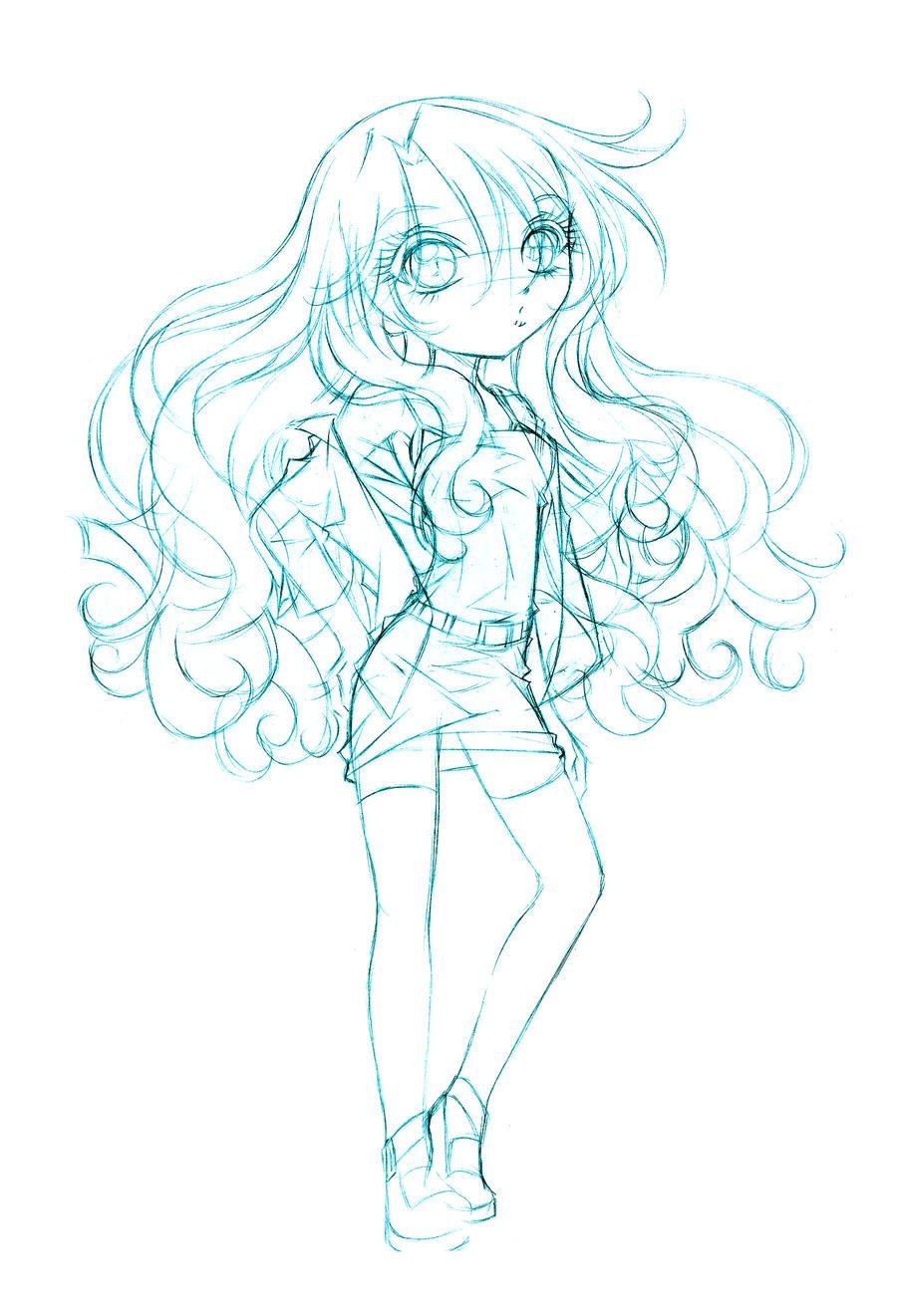 jupiter goth... sketch by sureya