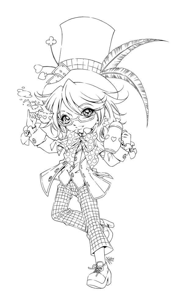 anime coloring pages deviantart outgoing - photo#28