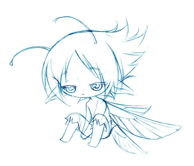 cutie boyz 06... sketch by sureya
